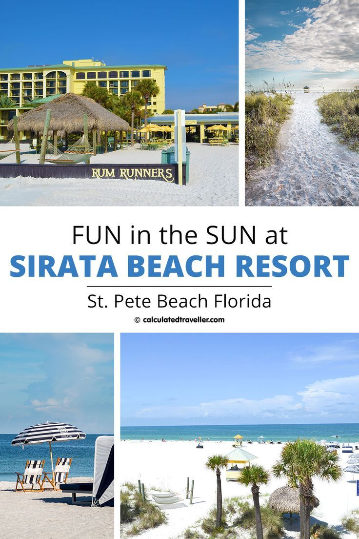 Fun In The Sun On St Pete Beach Florida At Sirata Beach Resort Beach Resorts Usa Travel Destinations Florida Beaches