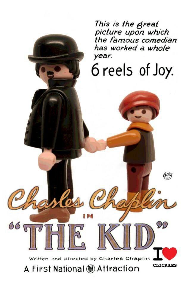 The Kid. Charles Chaplin.