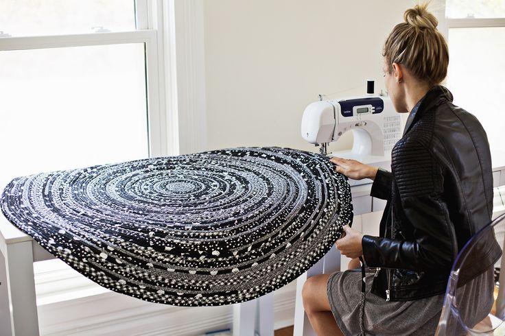 Machen Sie Ihren eigenen Seil Teppich-so süß!  (Klicken für Tutorial durch)