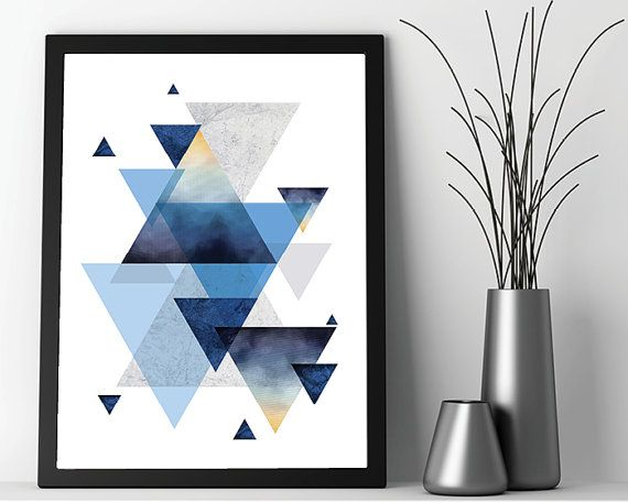 Gut gemocht Les 25 meilleures idées de la catégorie Impressions géométriques  FW88