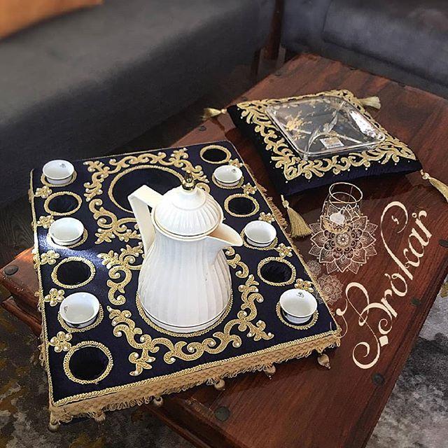 أطقم ضيافة وتقديم فخمة من التطريز اليدوي Brokarart Home أطقم صلاة راقية وتوزيعات Brokarart Tea Lights Tea Light Candle Candles