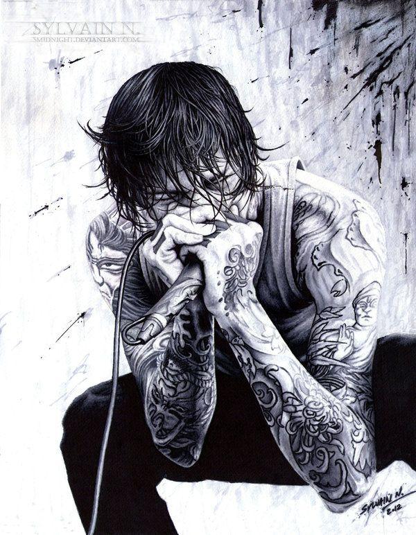 R.I.P. Mitch Lucker by SMidnighT