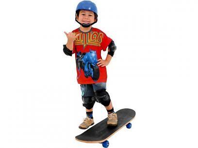 Kit Skate Force com Lixa e Acessórios - Xalingo 640.9 com as melhores condições você encontra no Magazine Gatapreta. Confira!