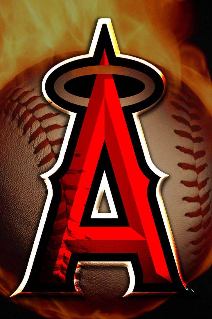 Anaheim Angels By Weirdoking Angels Baseball Anaheim Angels Baseball Wallpaper