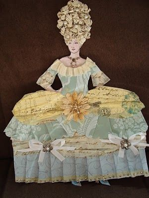 Marie Paper Doll