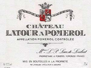 Château Latour à Pomerol 1982