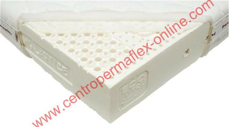 Com'è fatto un materasso in Lattice Permaflex? Ecco una splendida foto nella quale possiamo vedere tutti i vari dettagli. Maggiori info su  http://www.centropermaflex-online.com/prodotto-143152/Materasso-Glamour-Permaflex-h20.aspx