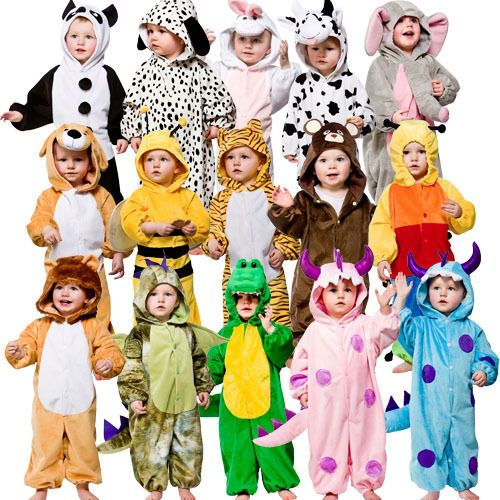 Toddler Animals Fancy Dress Up Childrens 12-18 Months Child Boys Girls Costume