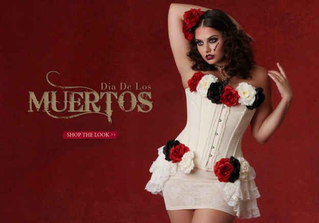 Dia De Los Muertos | 10 DIY Plus Size Halloween Costume Ideas For 2013