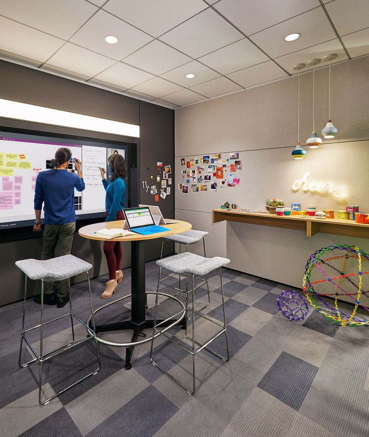 Creative workspaces designed to inspire by steelcase microsoft modern officesoffice furnituremicrosoftworkspace