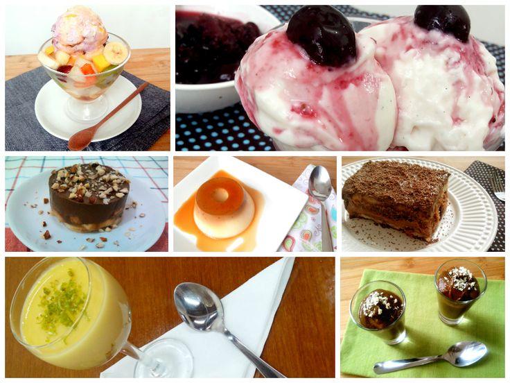 25 sobremesas refrescantes para o verão