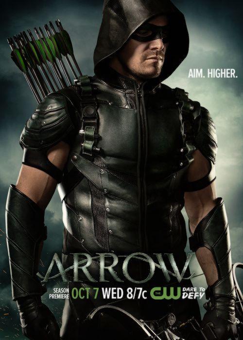 Arrow Season 4 Poster.