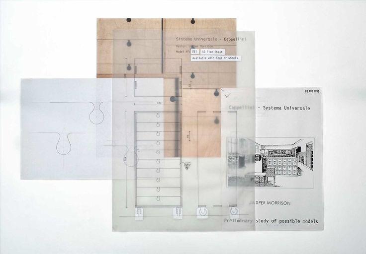 jasper morrison / sketches of the universal system / cappellini / 1990
