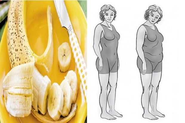 lose belly fat with this banana recipe