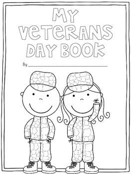 My Veteran's Day Book {Freebie}.. Social Studies - History, U.S. History Kindergarten, 1st, 2nd Activities, Minilessons...Your kiddos will fill in words to make this short little book on Veteran's Day and then draw pictures! :)