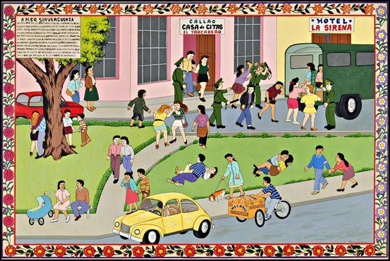 Dibujo de comunidad urbana y rural  Imagui  immagenes