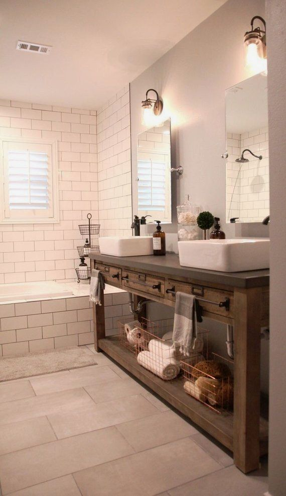 Wooden Bathroom Vanity One Shown Is Approximately 35 Tall X 25