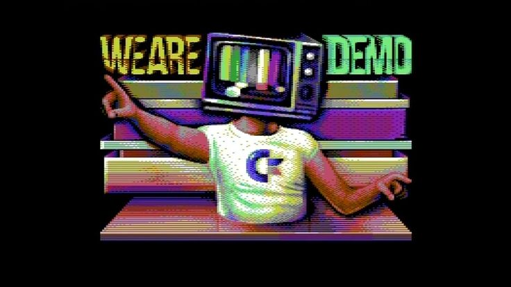 OFFENCE & FAIRLIGHT & NOICE 2016 WE ARE DEMO (C64)
