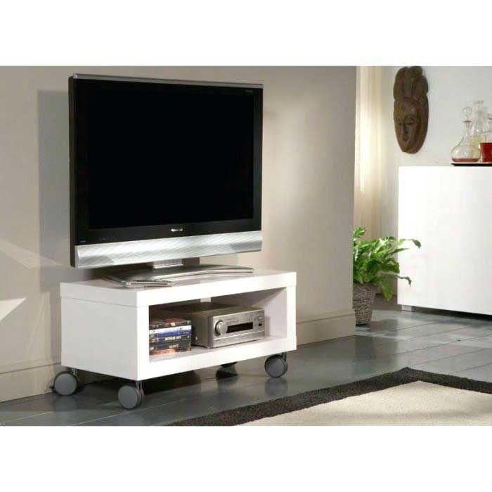 etonnant meuble tele roulette meuble tv