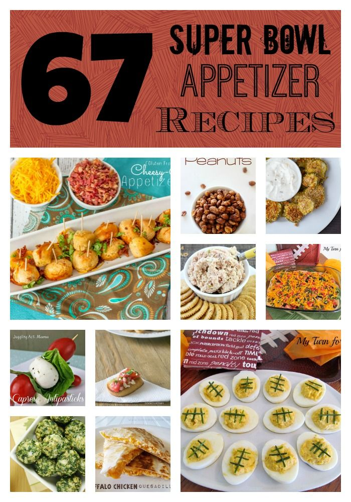 67 super bowl appetizer recipes roubinek reality for Super bowl appetizers pinterest