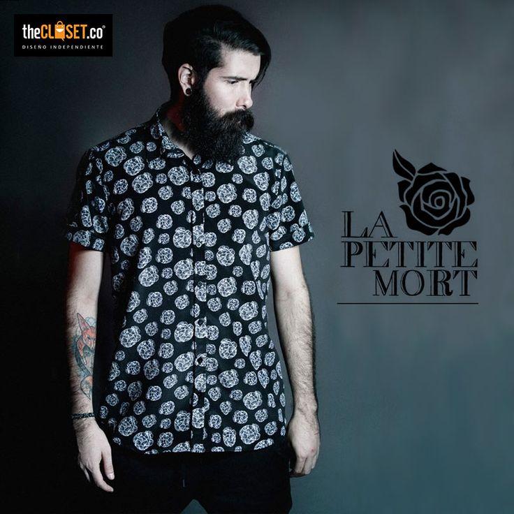 Camisas para hombres de la marca La Petite Mort en nuestra boutique TheCloset.co Store K7 # 54a - 18 L-3 #Bogotá #DiseñoIndependiente