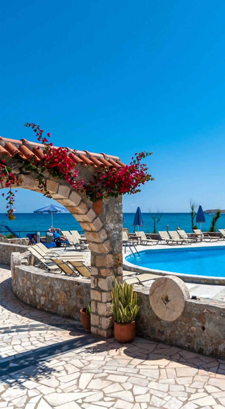 Blue Beach Apartments in Stavros, Chania, Crete
