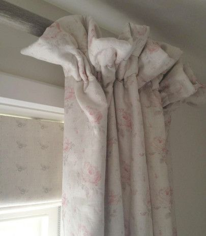 Georgian Roses ~ Antique Powder Pink & Dove (cream linen) ~ £54.00 - Peony & Sage