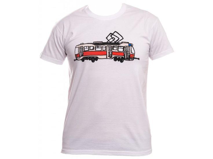 Tričko s Tétrojkou. Tričko s obrázkem Tétrojky. Gramáž: 190g/m2 Materiál: 100% bavlna Barva: bílá