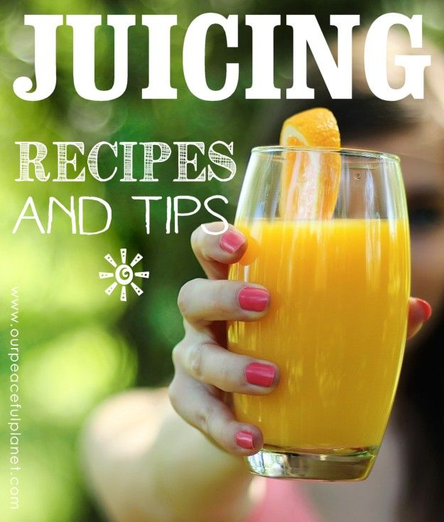 Juicing is an incredibly quick way to get a burst of live nutrients into your body!   There is no end to the types you can make and we've got some of our favorite recipes to share plus some great tips all contained in our FREE JUICING PACKET!