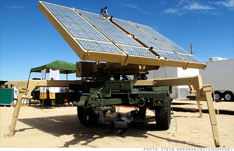 Many of the vendors trying to sell the Marines the latest #solar equipment are start-up firms.