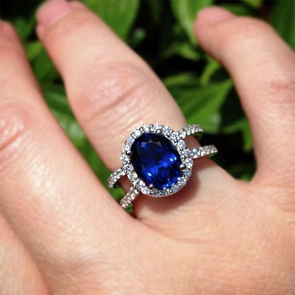 132 best images about Gemstone Engagement Rings on ...