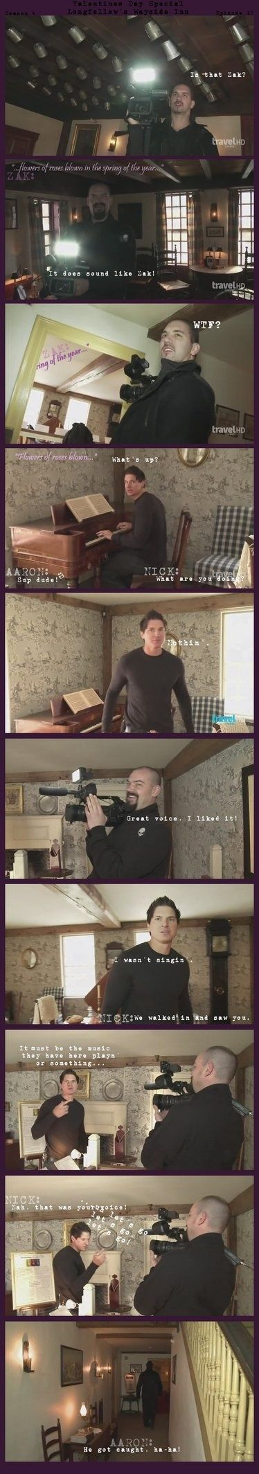 Ghost Adventures Wayside Inn, Valentine's Day.