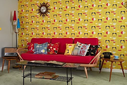 50s living room at the Royal Festival Hall