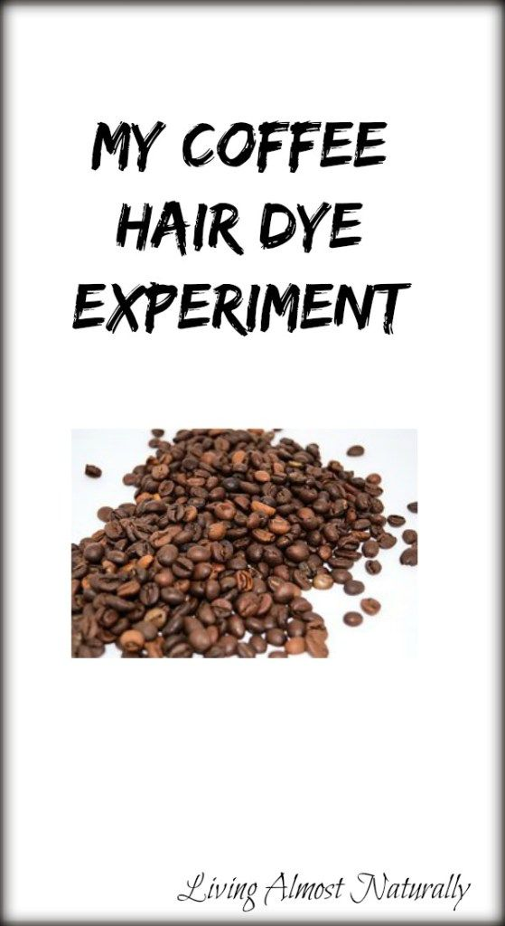 My Coffee Hair Dye Experiment