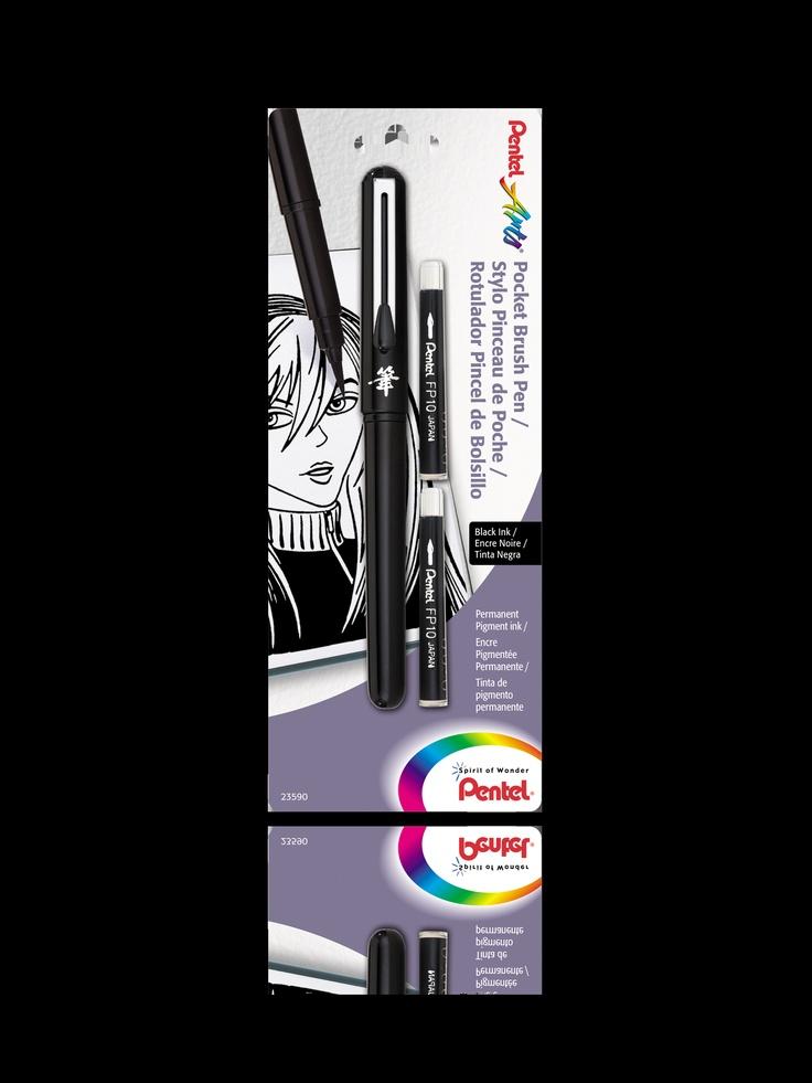 Pocket Brush Pen - Pentel 16.99