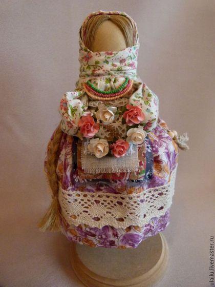 """Народные куклы ручной работы. Ярмарка Мастеров - ручная работа. Купить Кукла-перевертыш """"Девка-Баба"""". Handmade. Комбинированный, хлопок"""