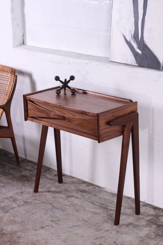 Console Table Mid Century Modern Entry Hall Side End by ZurnDesign, $599.00