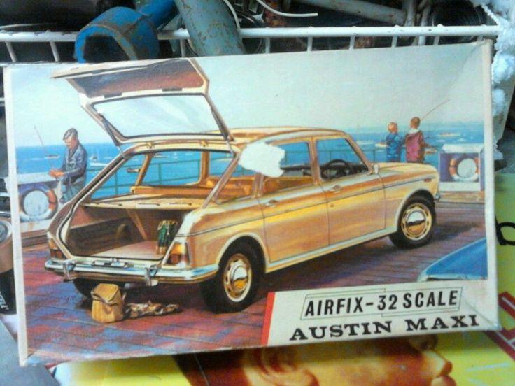 Car Toys Aurora Co: VINTAGE AIRFIX Austin Maxi 1/32 SCALE CONSTRUCTION KIT