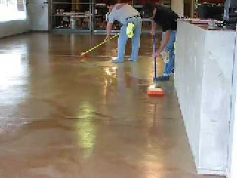 20 best images about garage floor paints stains dyes and for Removing stains from concrete garage floor