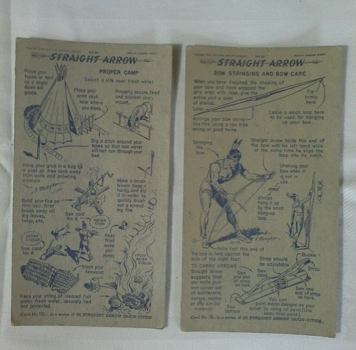 15 best straight arrow images on pinterest arrow arrows and clip art old vintage 1949 national biscuit company nabisco straight arrow premium card ebay fandeluxe Choice Image