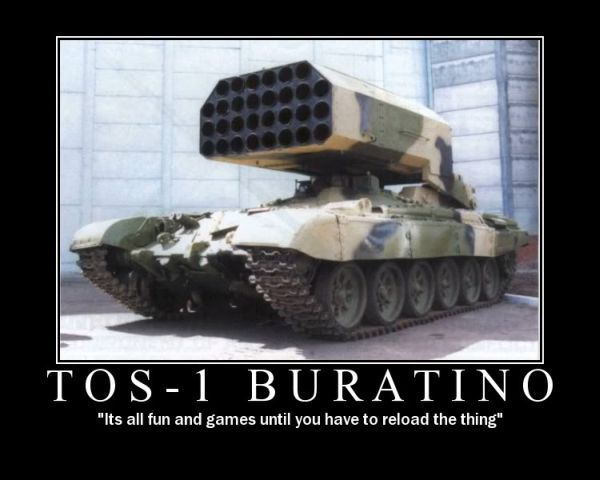 funny military | TOS-1 Buratino - Military humor