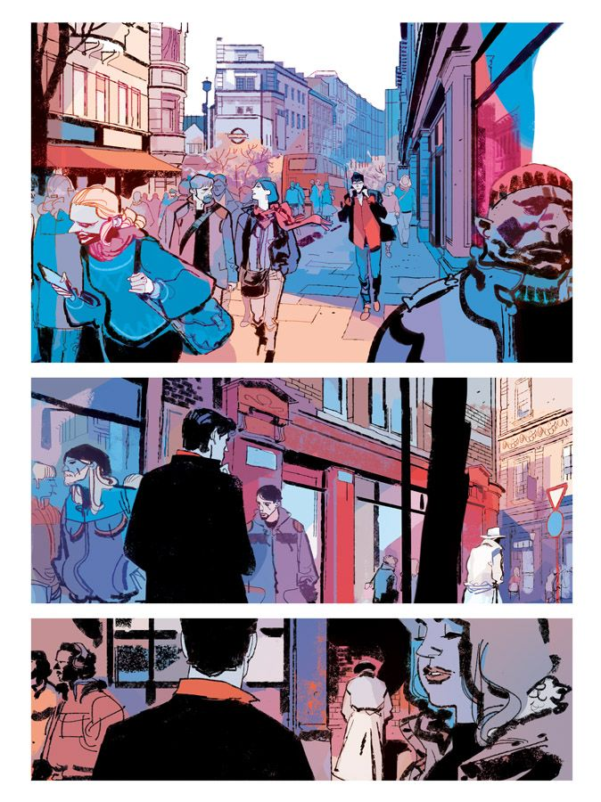Dylan Dog MATER DOLOROSA page 15 by GigiCave on DeviantArt