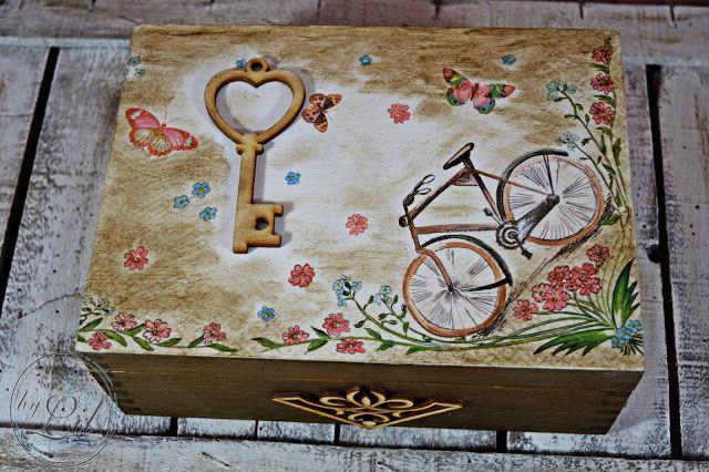 Rowerowe pudełko z kluczykiem