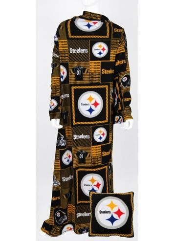 Pittsburgh Steelers NFL Fleece Snuggie