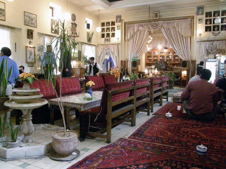 Traditional restaurant ,Shahr Park ,Tehran