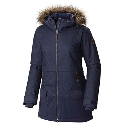 Columbia Women's Catacomb Crest Parka, Nocturnal, Small
