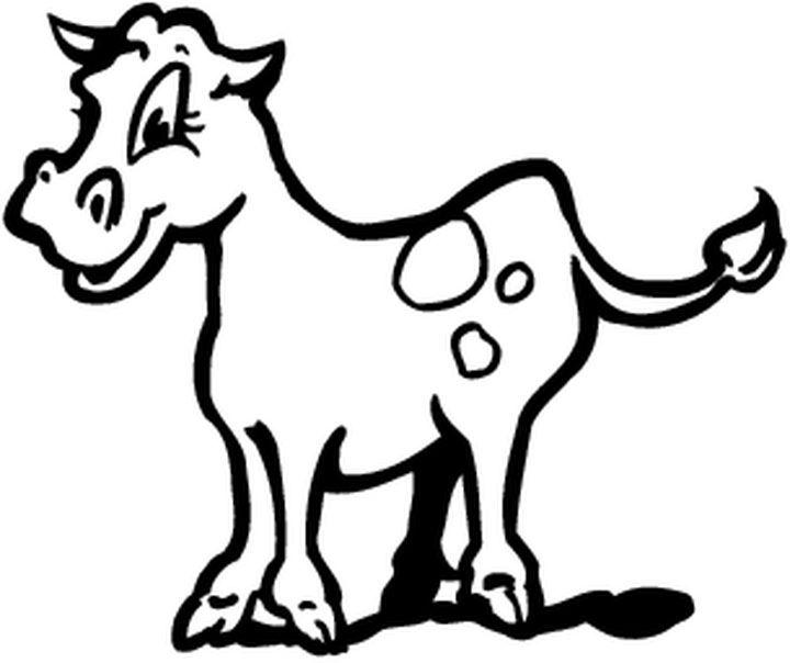 185 best coloriages images animaux sur terre images on pinterest adult coloring animal - Coloriage petit veau ...