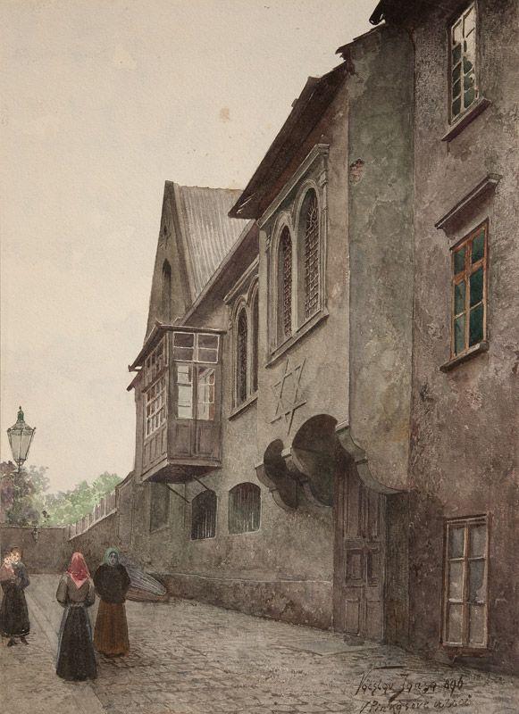 Václav Jansa (1859–1913)   Old Prague
