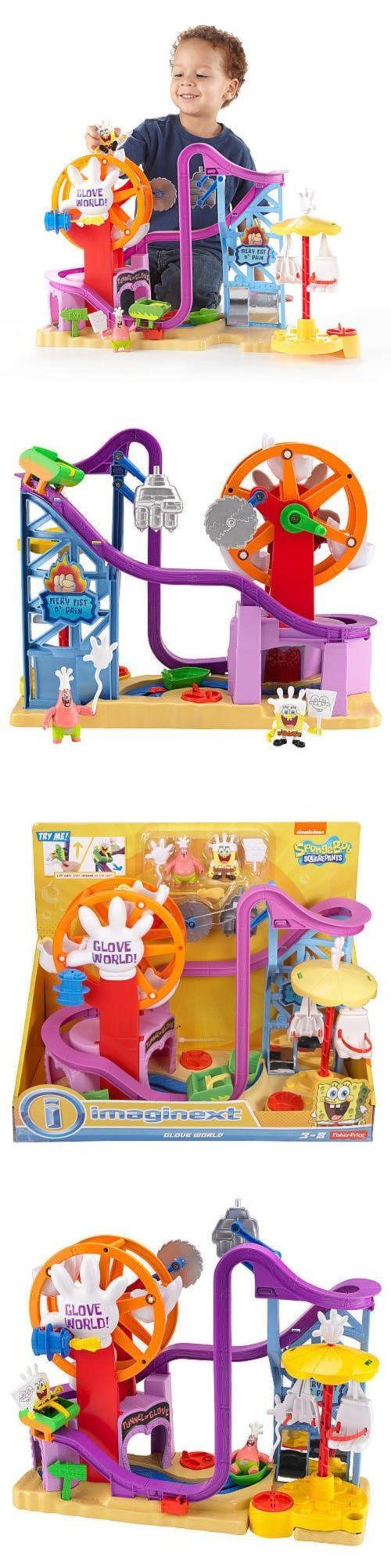SpongeBob Squarepants 20919: Fisher Price Imaginext Sponge Bob Square Pants Glove World New Toy Kids Present -> BUY IT NOW ONLY: $80 on eBay!