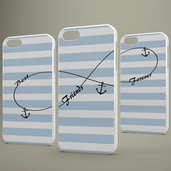Best Friends iPhone Case,BFF iPhone Case,Three BFF Case,iPhone 6... ($25) ❤ liked on Polyvore